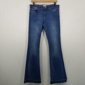 Zara Premium Denim Collection Bootcut Stretch Jean